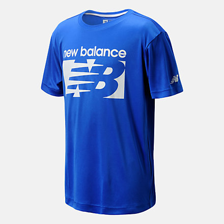 New Balance Performance Jersey Tee, LAK11B23CO image number null