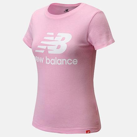 New Balance Core Logo Tee, LAK11D14PKL image number null