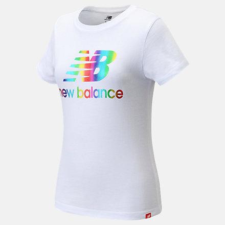 New Balance Core Logo Tee, LAK11D14WT image number null