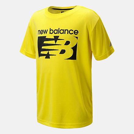 New Balance Performance Jersey Tee, LAK11J23CIY image number null