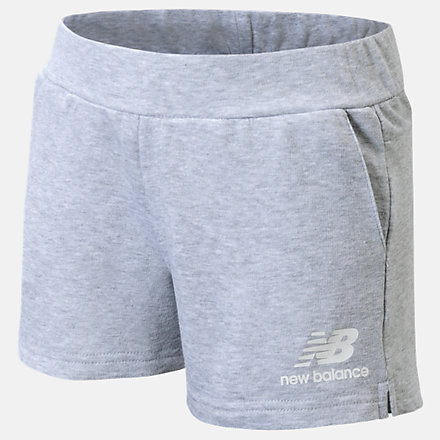 New Balance French Terry Short, LAK11Q18HG image number null
