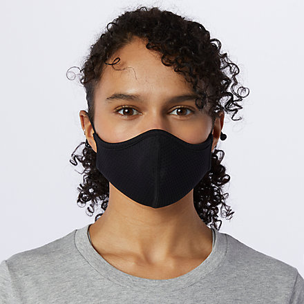 New Balance Everyday Facemask 3PK, LAO13098BK image number null