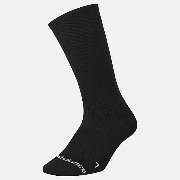 New Balance Running Lightweight Crew Sock 1 Pair, LAS00361BK