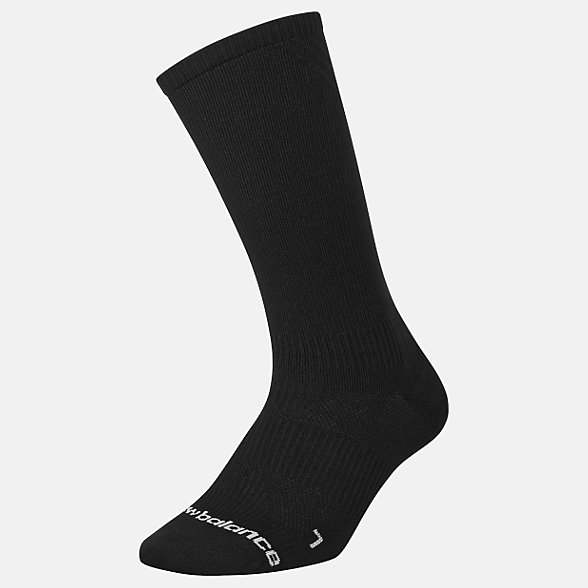 New Balance Running Lightweight Crew Sock 1 Pair, LAS00361BK