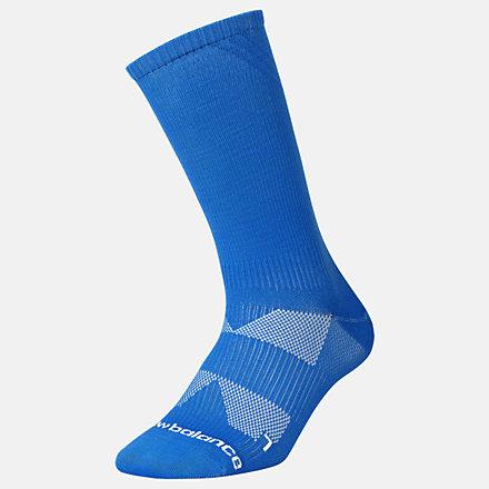 New Balance Running Lightweight Crew Sock 1 Pair, LAS00361VSB image number null