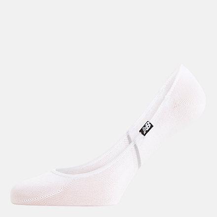 NB Ultra No Show Liner Socks 3 Pack, LAS00443BKW image number null