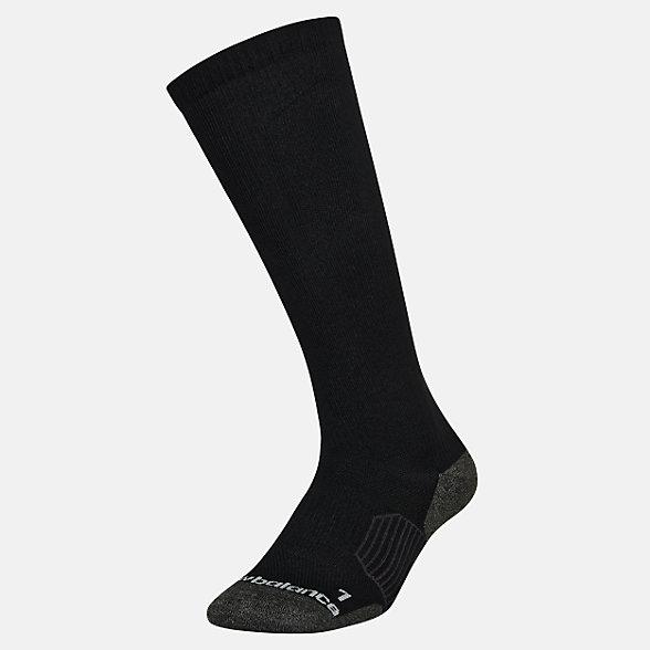 New Balance Strategic Cushion OTC Sock 1 Pair, LAS00711BK