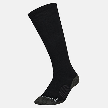 New Balance Strategic Cushion OTC Sock 1 Pair, LAS00711BK image number null