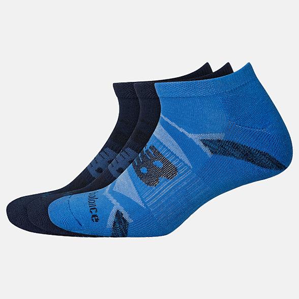 New Balance Performance Cushion No Show Socks 3 Pack, LAS00823NV