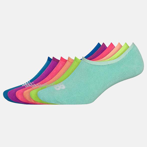 New Balance Kids Liner Socks 6 Pairs, LAS03846AS