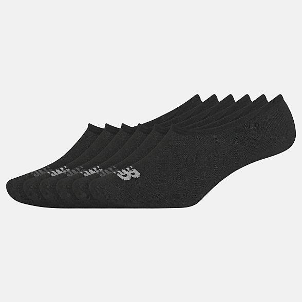 New Balance Kids Liner Socks 6 Pairs, LAS03846BK