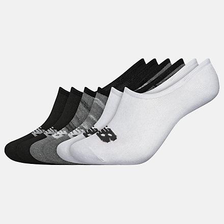 New Balance Kids Liner Socks 6 Pairs, LAS03946BM image number null