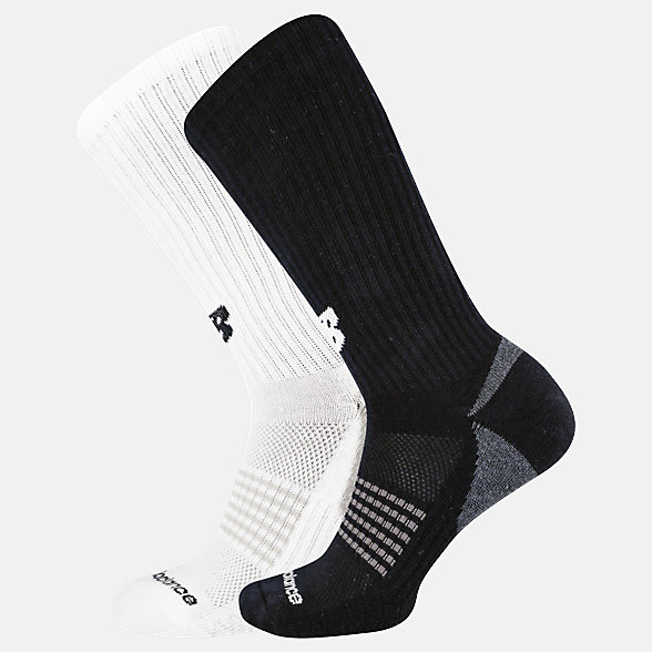 NB Cooling Cushion Performance Crew Socks 2 Pair, LAS04262AS2