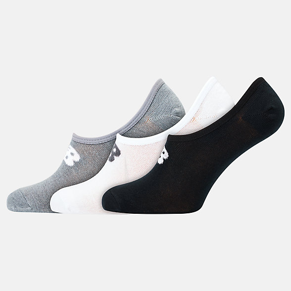 NB Unisex Ultra Low No Show Socken 3er Pack, LAS20043AS