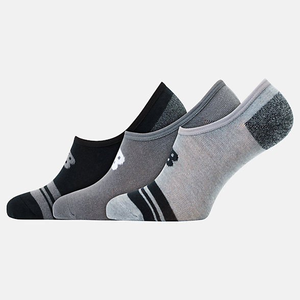 NB Chaussettes Unisex Ultra Low No Show 3er Pack, LAS20043BGR
