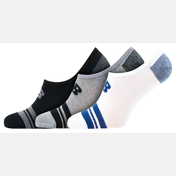 NB Chaussettes Unisex Ultra Low No Show 3er Pack, LAS20043BM