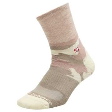 New Balance Womens Camo Short Crew Sock 1 Pair, White