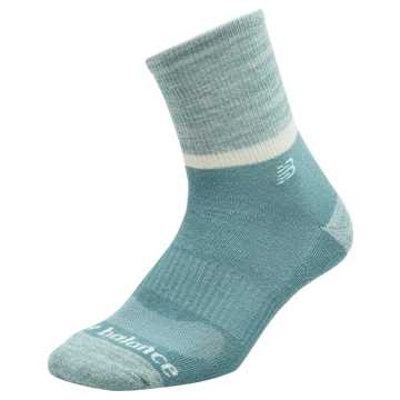New Balance Womens Colorblock Short Crew Sock 1 Pair, Blue