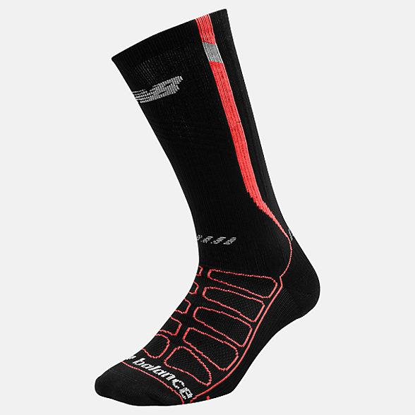 New Balance Reflective Compression Run Socks, LAS39311BFL