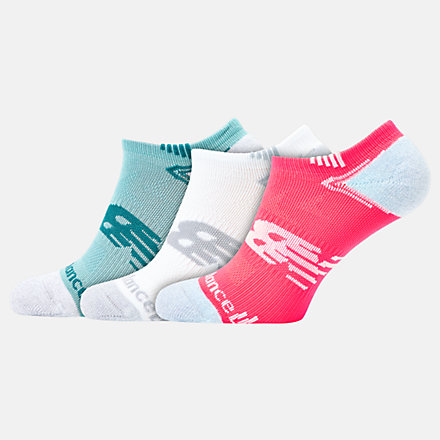 NB No Show Run Sock 3 Pair, LAS44223AS1 image number null