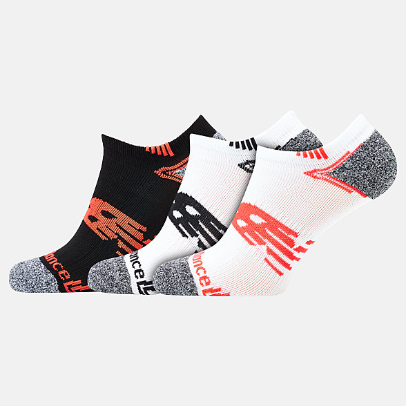 NB No Show Run Socken 3er Pack, LAS44223AS3