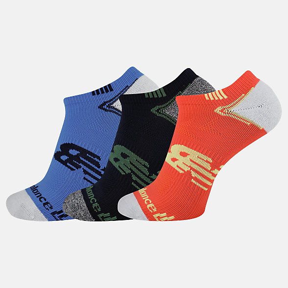 NB No Show Run Socken 3er Pack, LAS44223AS5