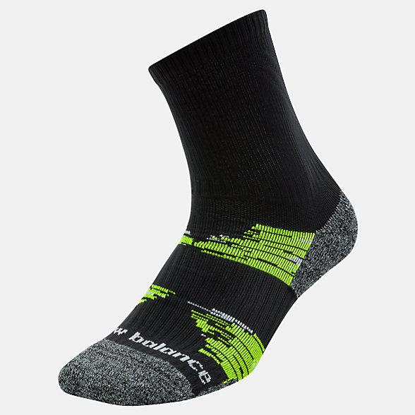 New Balance Chaussettes courtes pour course sur sentier, LAS49961BKY
