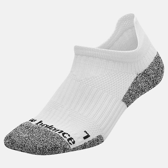 New Balance Cushioned Tab No Show Socks, LAS54451WT