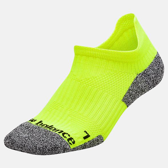 New Balance Cushioned Tab No Show Socks, LAS54451YL