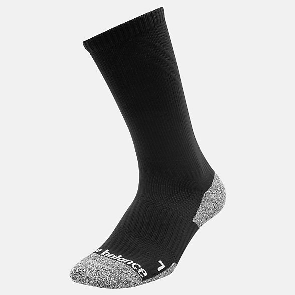New Balance Cushioned Crew Socks, LAS54561BK