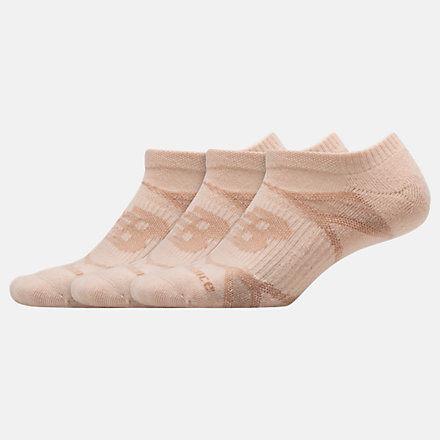 NB Performance No Show Socks 3 Pack, LAS61123OPK image number null