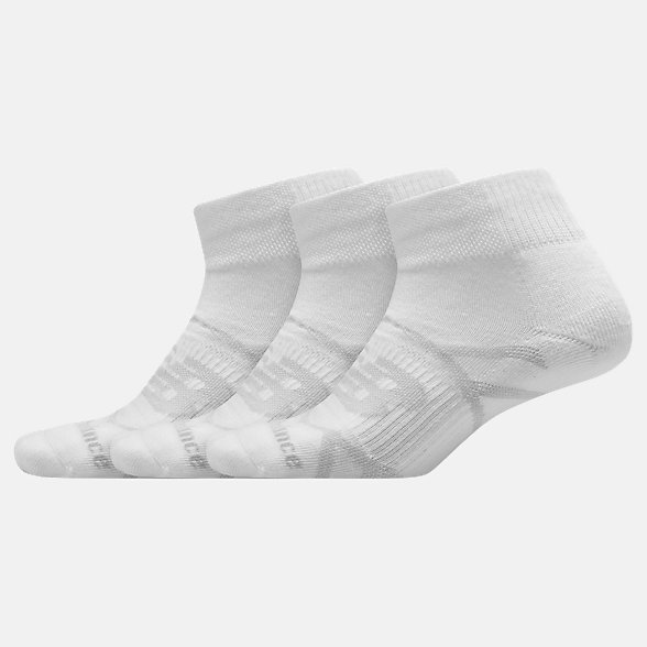 NB Performance Ankle Sock 3 Pair, LAS67433WT