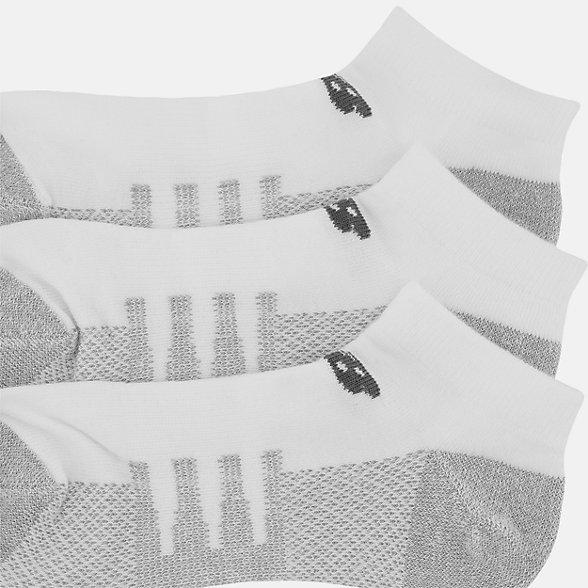 New Balance Coolmax No Show Socks 2 Pair, LAS70122WT