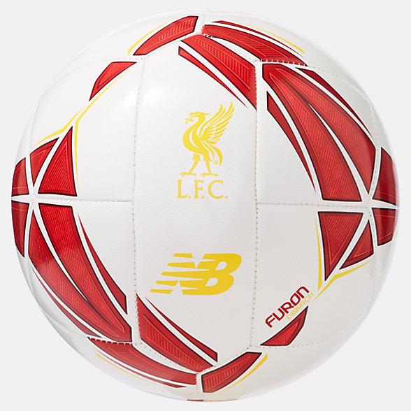 New Balance Liverpool FC Dynamite Hi-Vis Football, LFLDISP9WTR