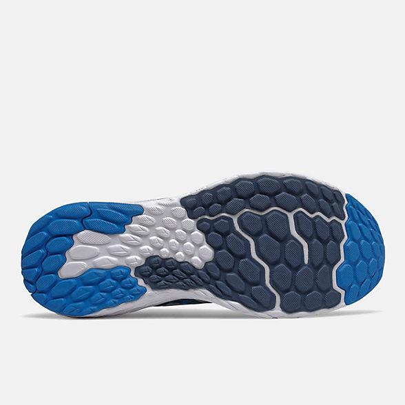 NB Fresh Foam 1080v10, M1080B10, Vision Blue with Vintage Indigo & Grey