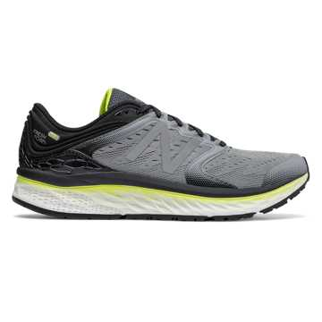 New Balance Fresh Foam 1080v8, Steel with Black & Hi-Lite