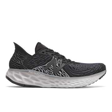 New Balance Fresh Foam 1080v10, Black with Steel
