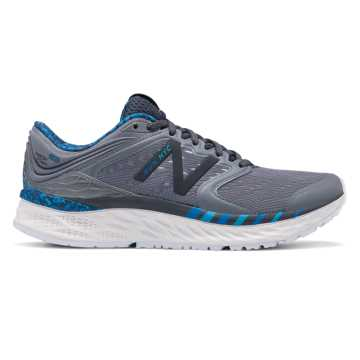New Balance Fresh Foam 1080v8 NYC Marathon, Gunmetal with Orca & Blue Berry