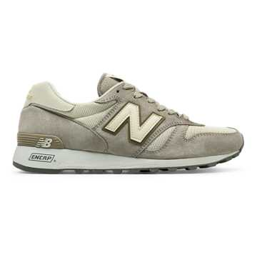 New Balance 1300 Baseball, Grey with Gold