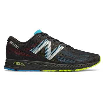 0aeca7245840c5 New Balance 1400v6, Black with Polaris