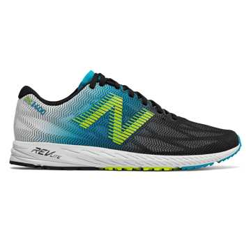 New Balance 1400v6, Maldives Blue with Black & Hi-Lite