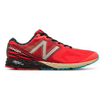 New Balance 1400v5 NYC Marathon, Energy Red with Gold