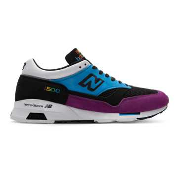 New Balance 1500 Made in UK, Maldives Blue with Black & Purple