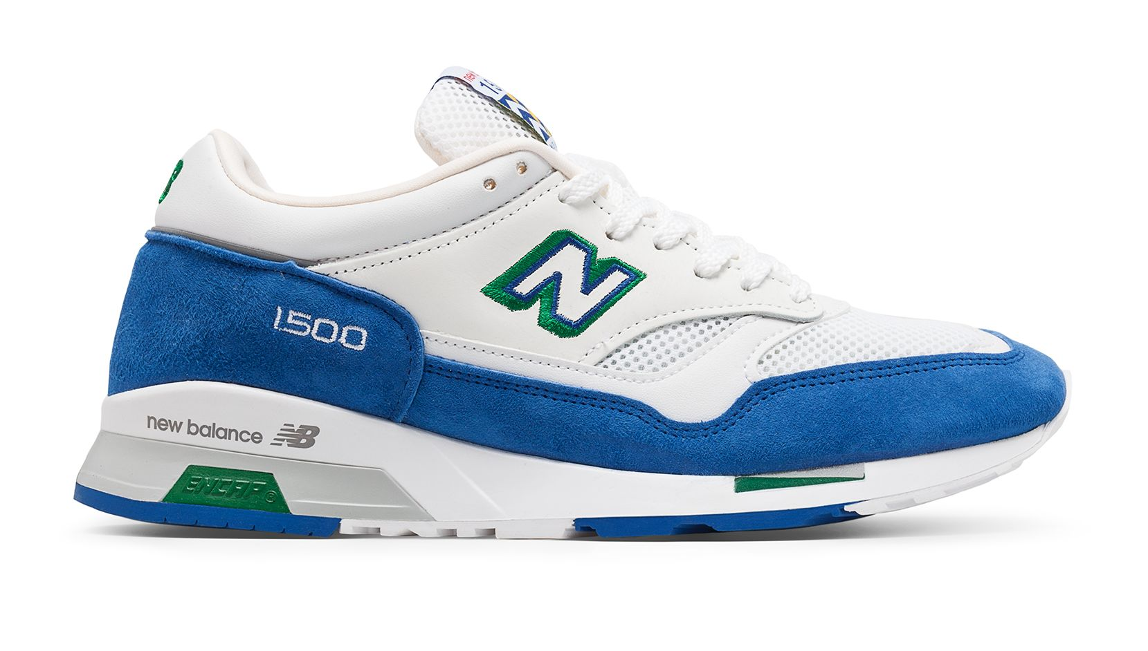 NB 1500 Made in UK Cumbrian Pack, Blue with White & Yellow