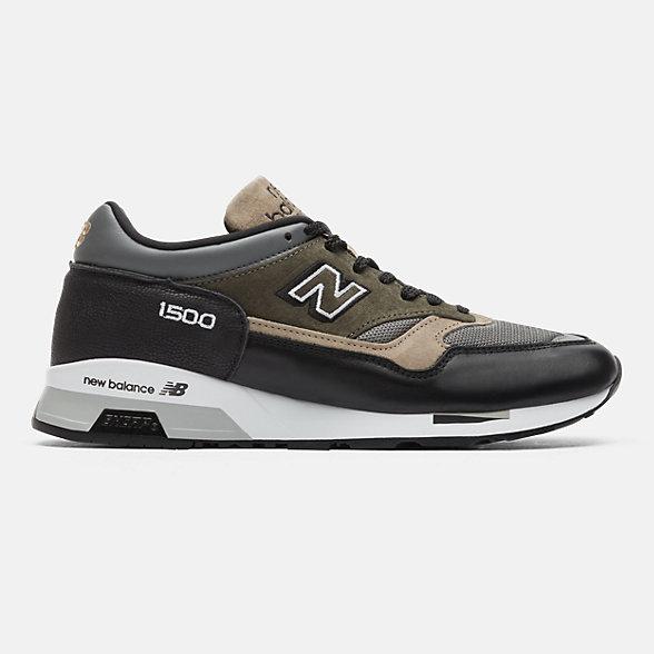 New Balance 英国原产1500系列男女同款复古休闲运动鞋, M1500FDS