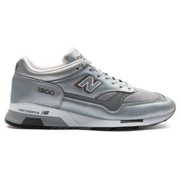 New Balance 1500 Made in UK, Silver with White
