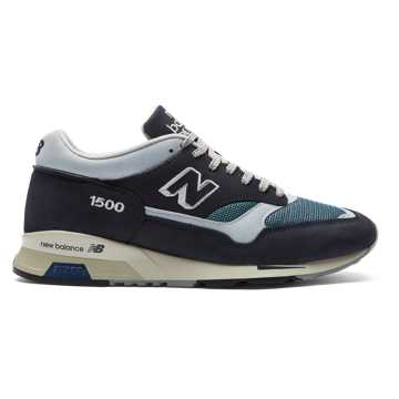 New Balance 1500 Made in UK Nubuck, Navy with Grey & Petrol
