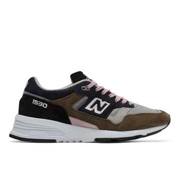 New Balance Made in UK 1530 Soft Haze, Grey with Khaki & Navy