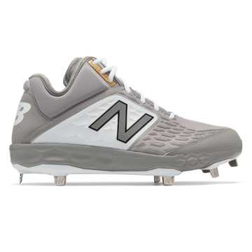 New Balance Fresh Foam Mid-Cut 3000v4 Metal, Grey with White