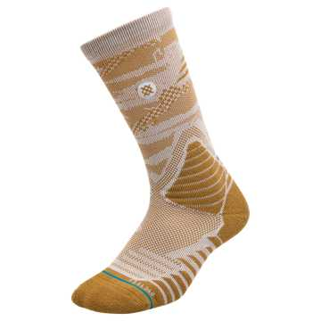 New Balance New Balance x Stance Hoops Socks, Nutmeg with White